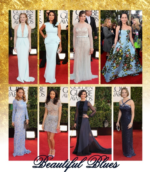 Goldn Globes 2013- Blue