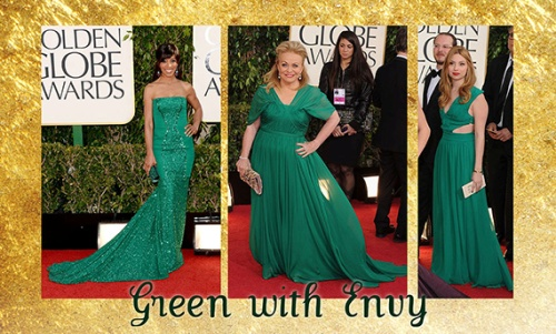Goldn Globes 2013- Emerald