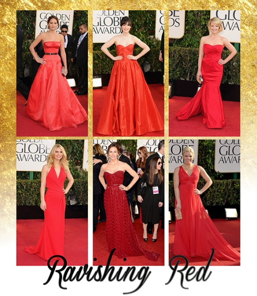 Goldn Globes 2013- Red