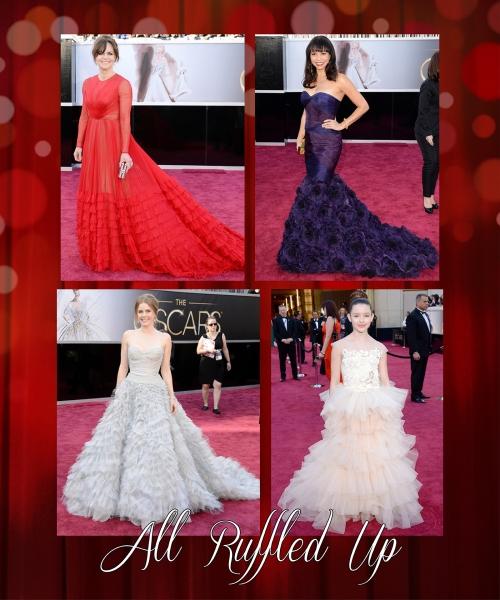Oscars 2013- Ruffles